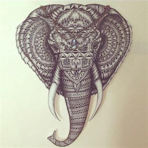 elephant tattoo we heart it image via we heart it https weheartit com entry