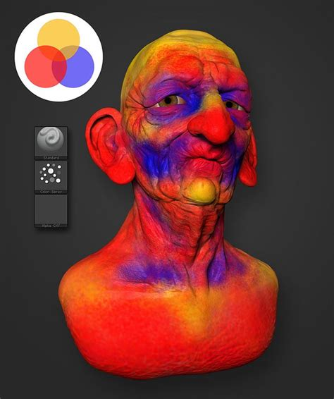 zbrush tutorial polypaint 811 best images about zbrush tutorials on pinterest