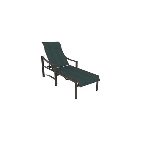 Tropitone Chaise Lounge Tropitone Kenzo Sling Chaise Lounge Leisure Living