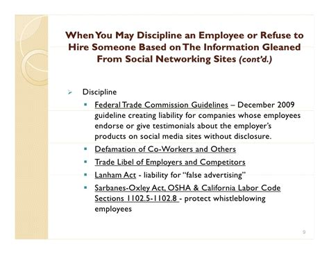 labor code section 1102 5 social media in california policing workers online
