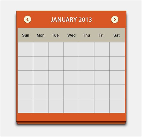 design calendar in photoshop design a clean calendar ui in photoshop sitepoint