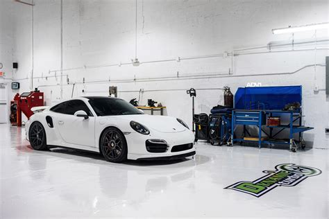 porsche turbo wheels black white porsche 991 turbo with adv 1 wheels my car portal