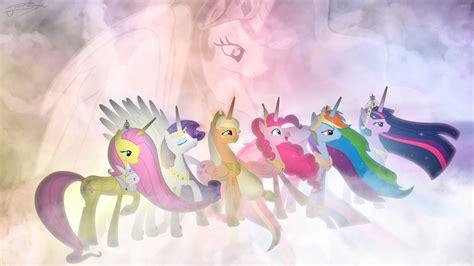 my little pony ponies my little pony friendship is magic wallpaper