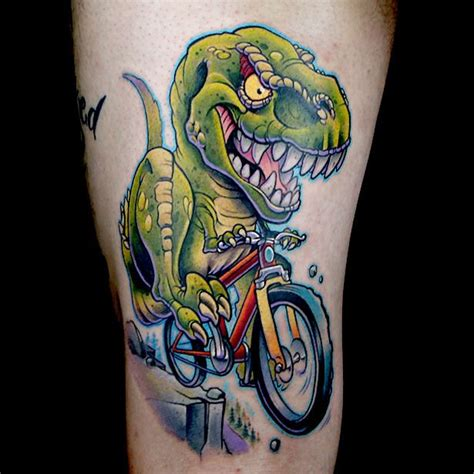 new school dinosaur tattoo best 25 new school ideas on