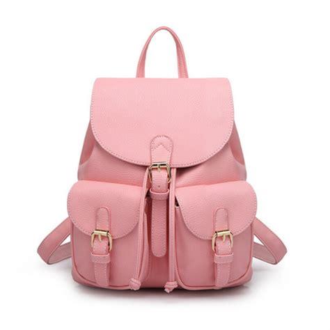 light pink leather backpack pink leather backpack backpacks eru