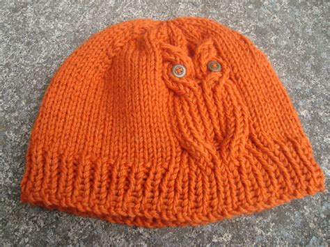 owl hat knitting pattern free owl hat knitting pattern knitting listia