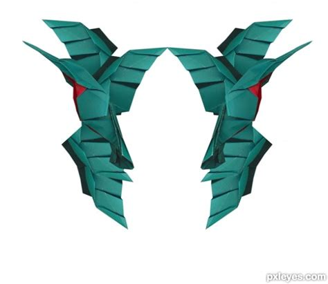 Origami Transformer - pin origami transforming interactive design lab