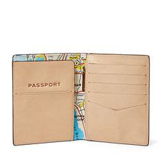 Fossil Plaid Passport Wallet New With Tag 1000 images about leather on leather wallets wallets and handmade leather