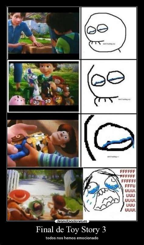 Memes De Toy Story - final de toy story 3 desmotivaciones