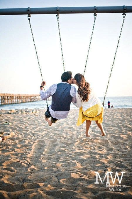couple swings funny ideas for taking really unique and memorable photos