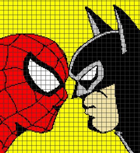 batman knitting chart vs batman chart graph and row by row written