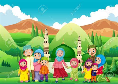 wallpaper cartoon muslim muslim family clipart free clipartxtras