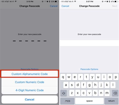 how to create a more secure passcode on your iphone or mac rumors