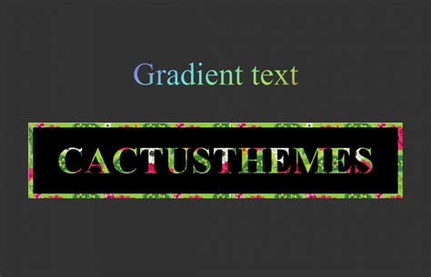 css text color css text gradient