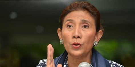biografi menteri susi pudjiastuti sejarah ri di hut ri susi mau rakyat waspada bahaya laten penjajahan