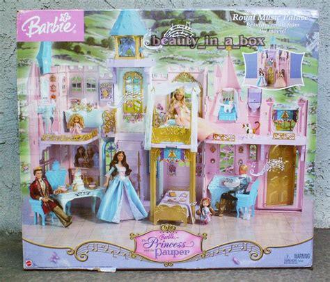 princess barbie house royal music palace anneliese princess and the pauper barbie doll house castle barbie