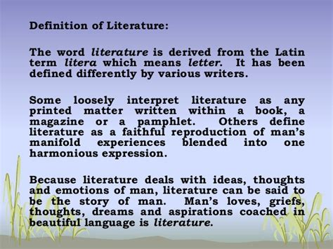 literature definition philippine literature