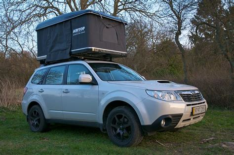 Tenda Forester Airtop Tent Open Rooftop Tent Living Combo