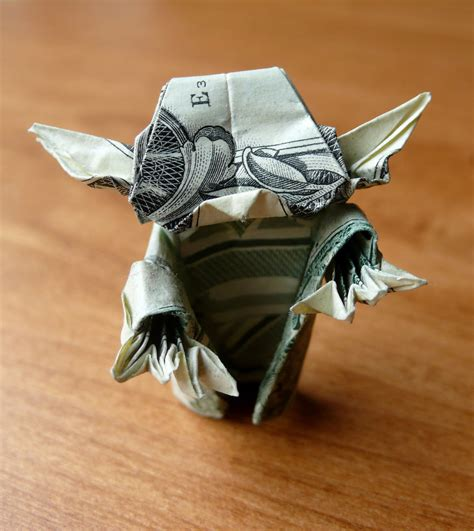 Origami With Bills - dollar bill origami by craigfoldsfives dollar bill