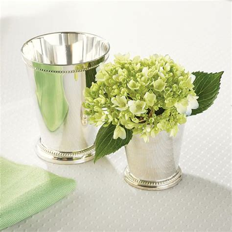 Silver Mint Julep Vases by Small Silver Mint Julep Cup Vase