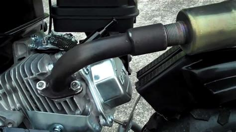 doodlebug exhaust brute power pipes mini bike exahust for honda clone