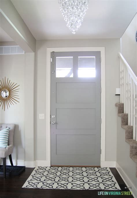 gray painted doors simple chic design on virginia