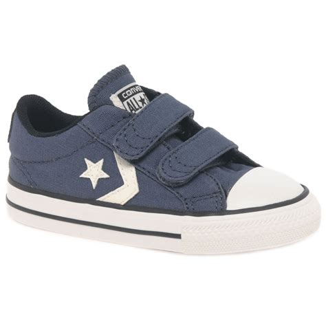 converse player 2v boys infant canvas shoes charles