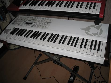 keyboard layout virus access music virus ti2 keyboard whiteout limited edition