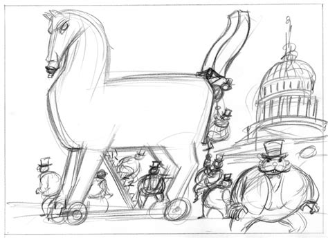 coloring page trojan horse free coloring pages