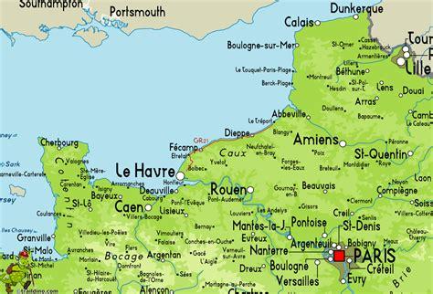 le havre map gr21 c 244 tes normandes