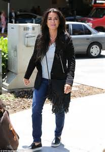 Jo In T Shirt White Intl kyle richards flies back into la amid rumours she s