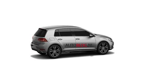 volkswagen golf 7 interni 2018 golf gti facelift leaked golfmk7 vw gti mkvii