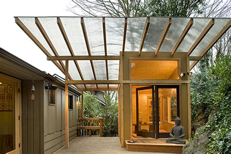 living architects meditation hut asian deck seattle by greif