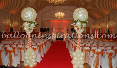 Jewish wedding balloon decorations