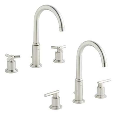 3 bathroom faucet grohe 20069 en0 atrio three bath faucet brushed