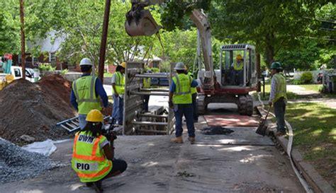 Atlanta Water Shed by Atlanta Watershed Management Announces Stormwater Repair