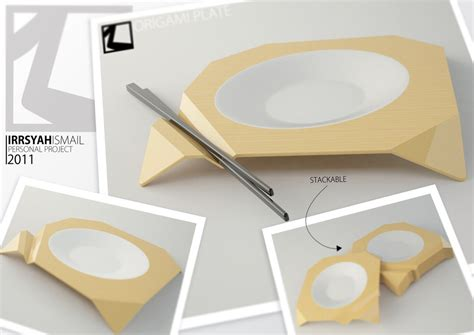 Origami Plates - origami plate presentation by irrsyah on deviantart