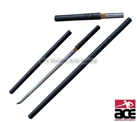 Handmade Japanese Shirasaya Samurai Katana Sword Sharp - 39 quot handmade zatoichi shirasaya katana sword
