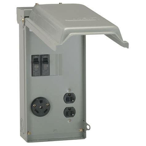 ge 100 3 space 3 circuit 240 volt unmetered rv outlet