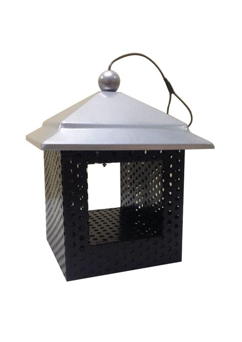hanging wild bird feeder bird nest metal sunflower seed
