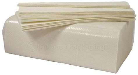 Multi Fold Paper Towels - bagasse multifold paper towel 1 ply of 4000