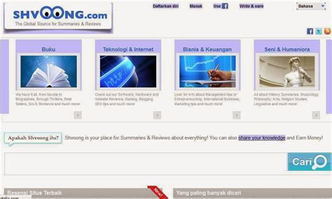 membuat blog untuk mendapatkan uang dapat uang dengan buat artikel cara daftar di shvoong