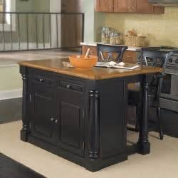 Monarch Kitchen Island by Monarch 3 Pc Kitchen Island And Counter Stools Set