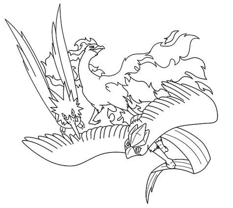 Articuno Pages Coloring Pages Articuno Coloring Pages
