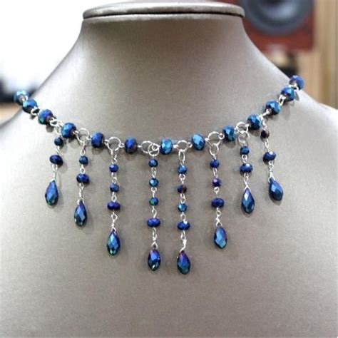 DIY Wre Jewelry Making: How to make Family Jewels Necklace