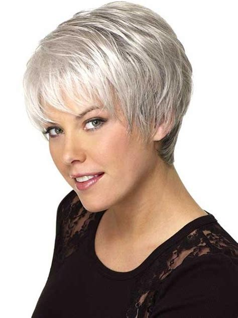 salt pepper hairstyles for thick hair 20 best ideas of short hairstyles for salt and pepper hair