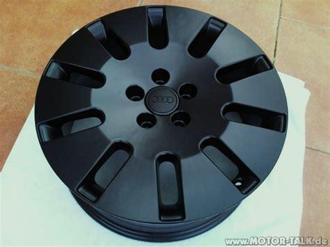 Motor Lackieren Oder Pulverbeschichten by A8 Felgen Felgen In Farbe Titangrau Lackieren Oder