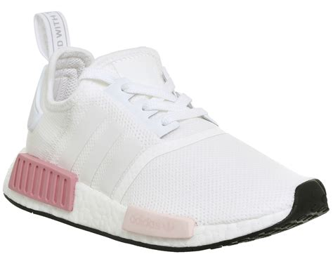 adidas nmd r1 white icey pink trainers shoes ebay