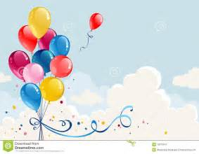 birthday balloons stock images image 15070674