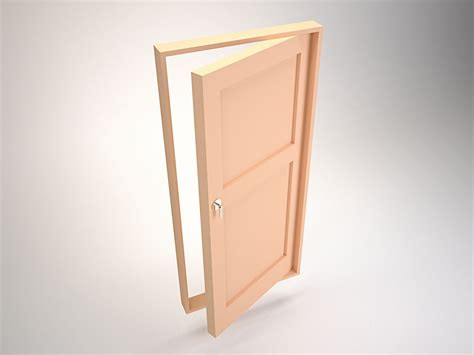 door swing single swing doors